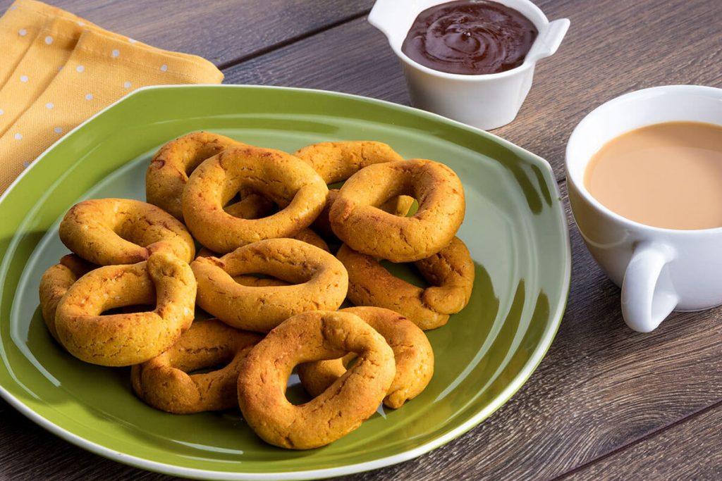 Receta Doñarepa - Rosquillas